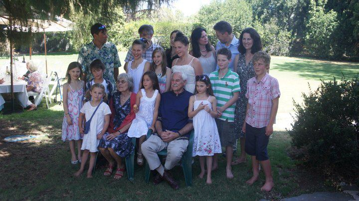"""Here's MY Mum with some of the children and grandchildren she has sung to… lullabies for the babies, """"Popcorn popping on an apricot tree"""" in Spring time or her rendition of """"It's your birthday""""… Granny has a song for EVERY occasion!"""