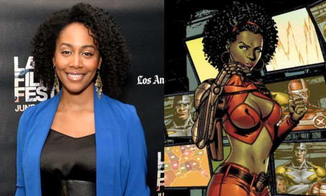 Aside from the typically revealing outfit, Misty Knight looks totally BA!