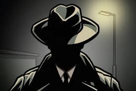 The shady assassin character.