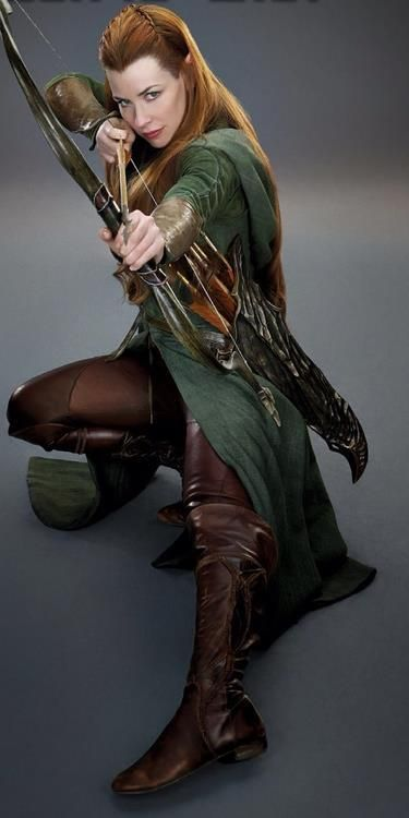 My favorite Elven Ranger. She shoots with a Dwarven Steel Crossbow.