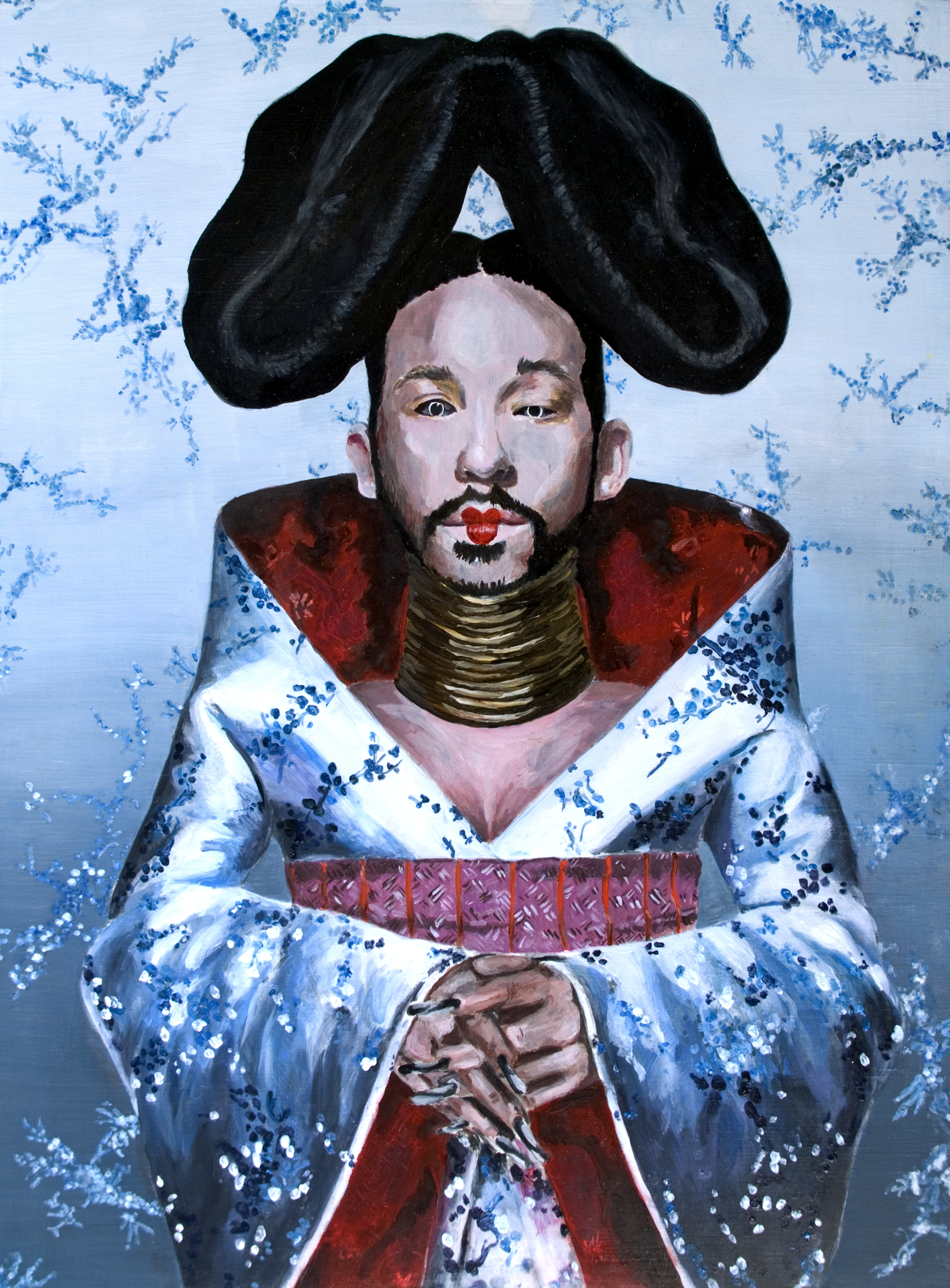 """Self-portrait as Björk's Homogenic"""