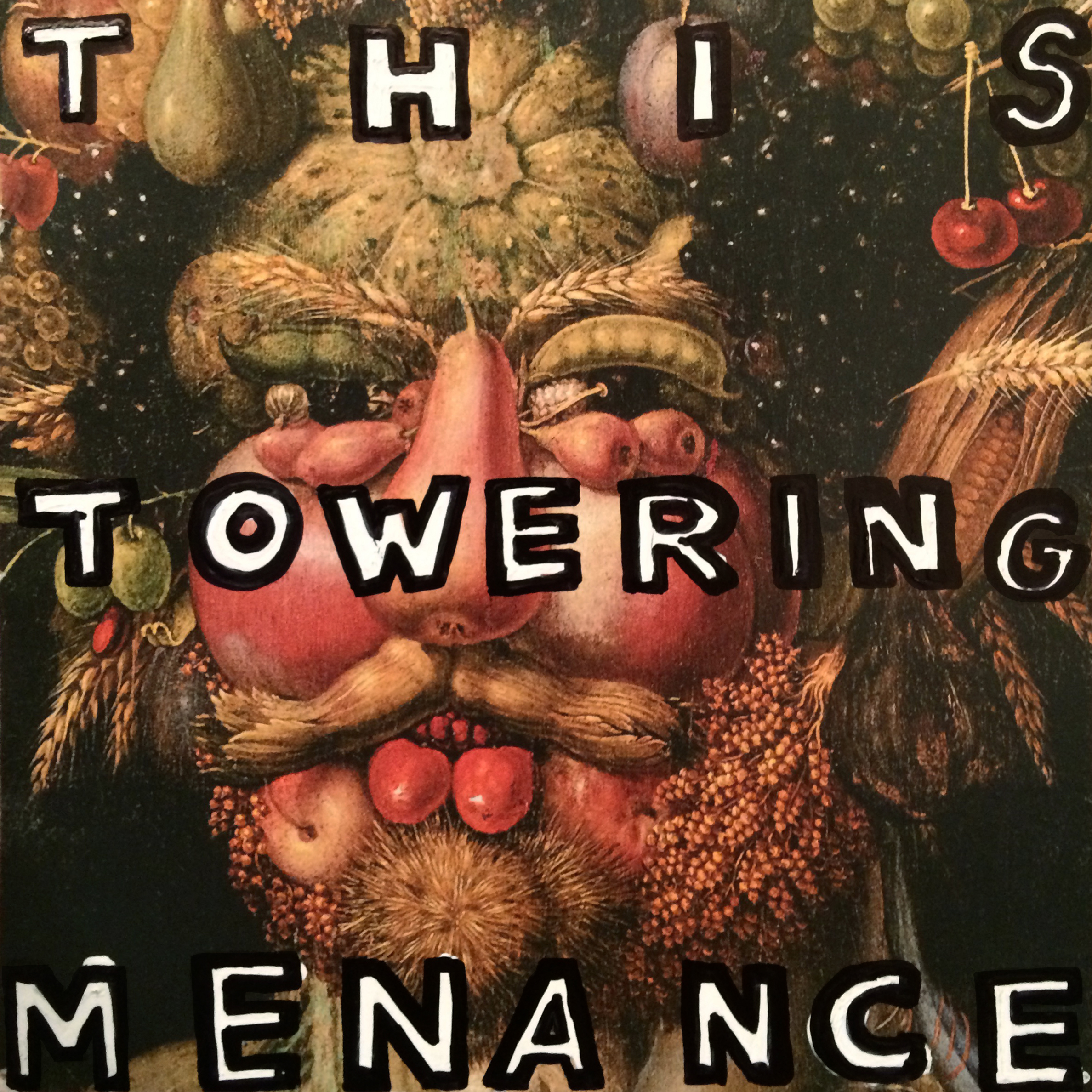 """This Towering Menance"" cover art - joan version"