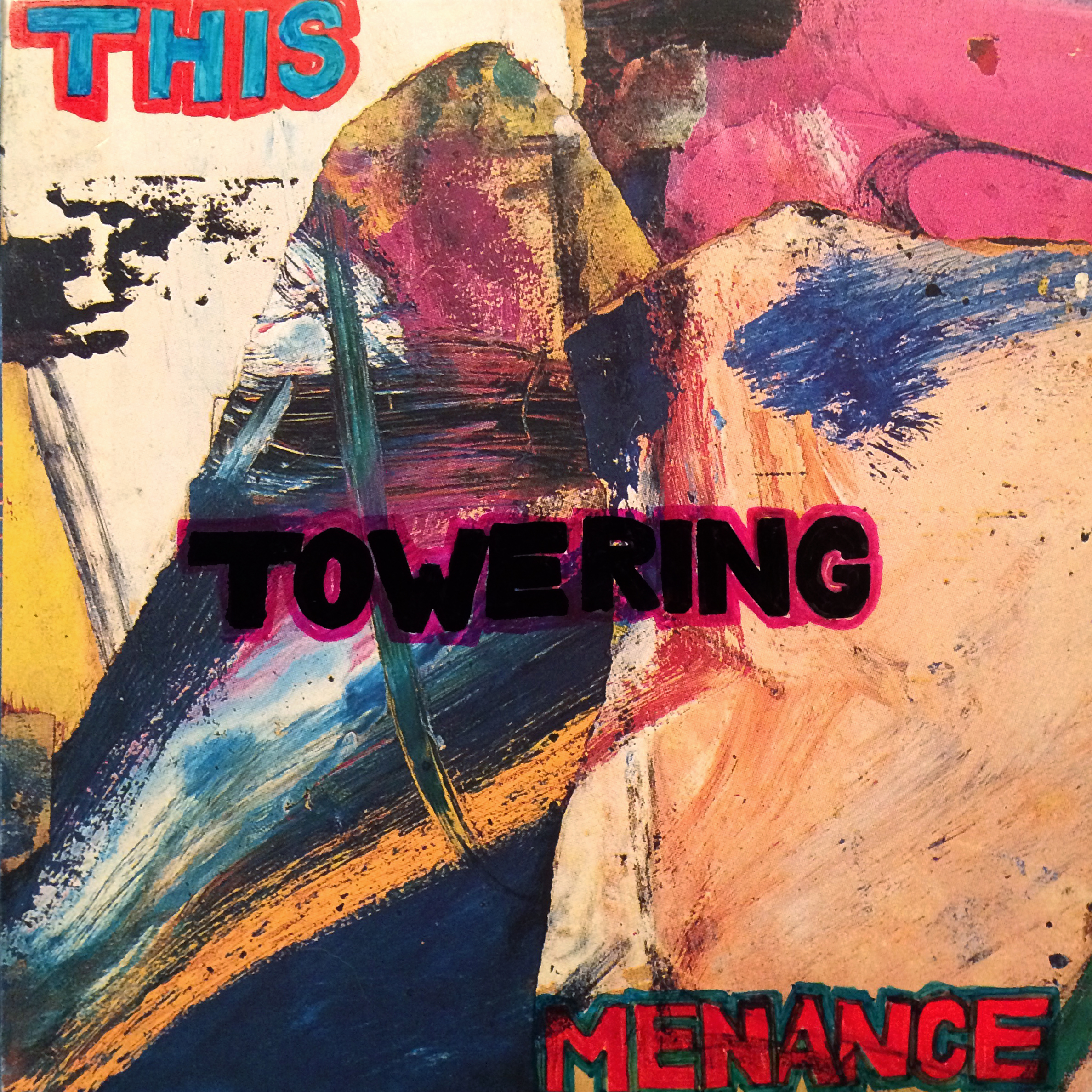 """This Towering Menance"" cover art - jon version"