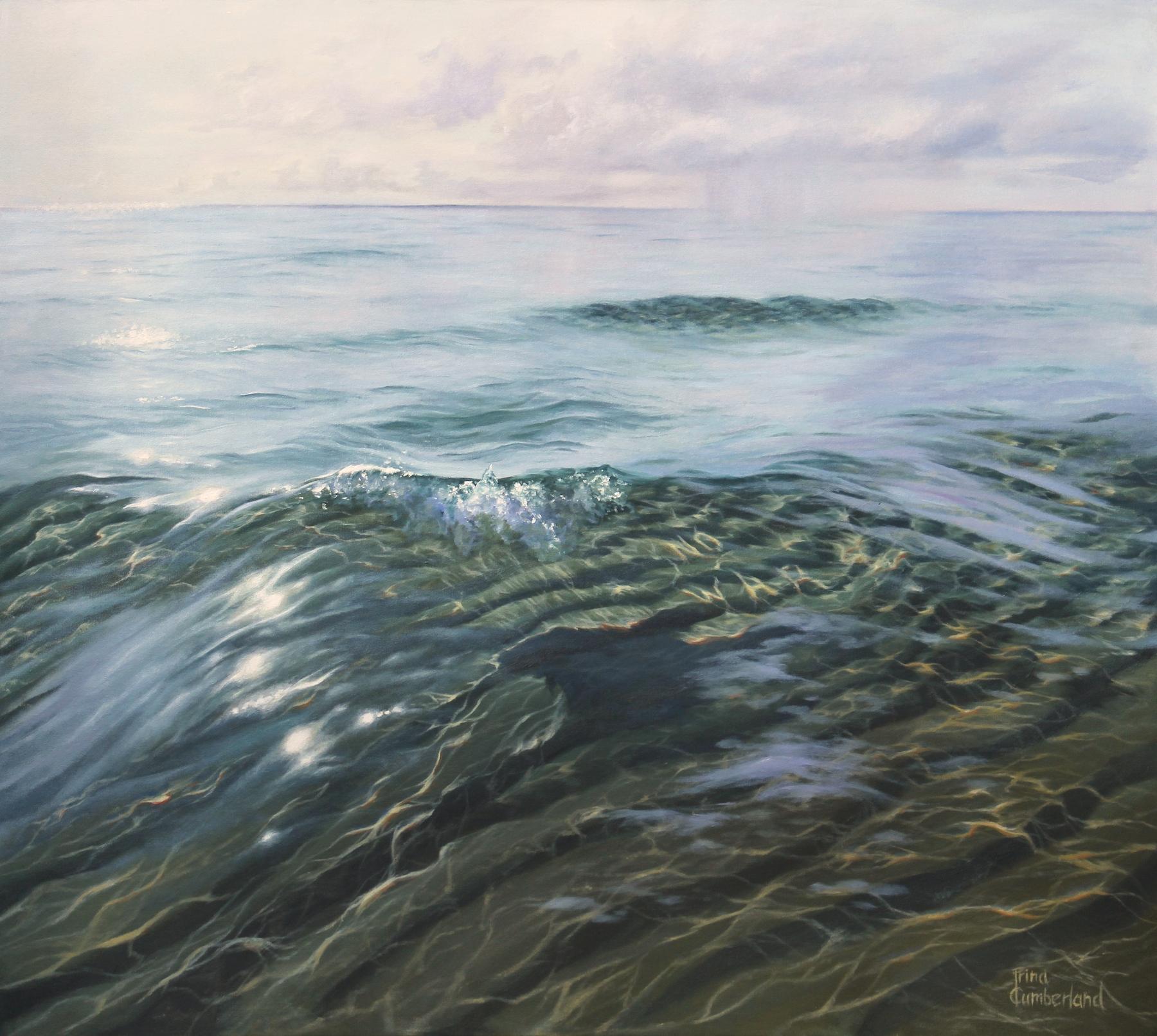 """No War"", oil on canvas, 37.5""x42"""