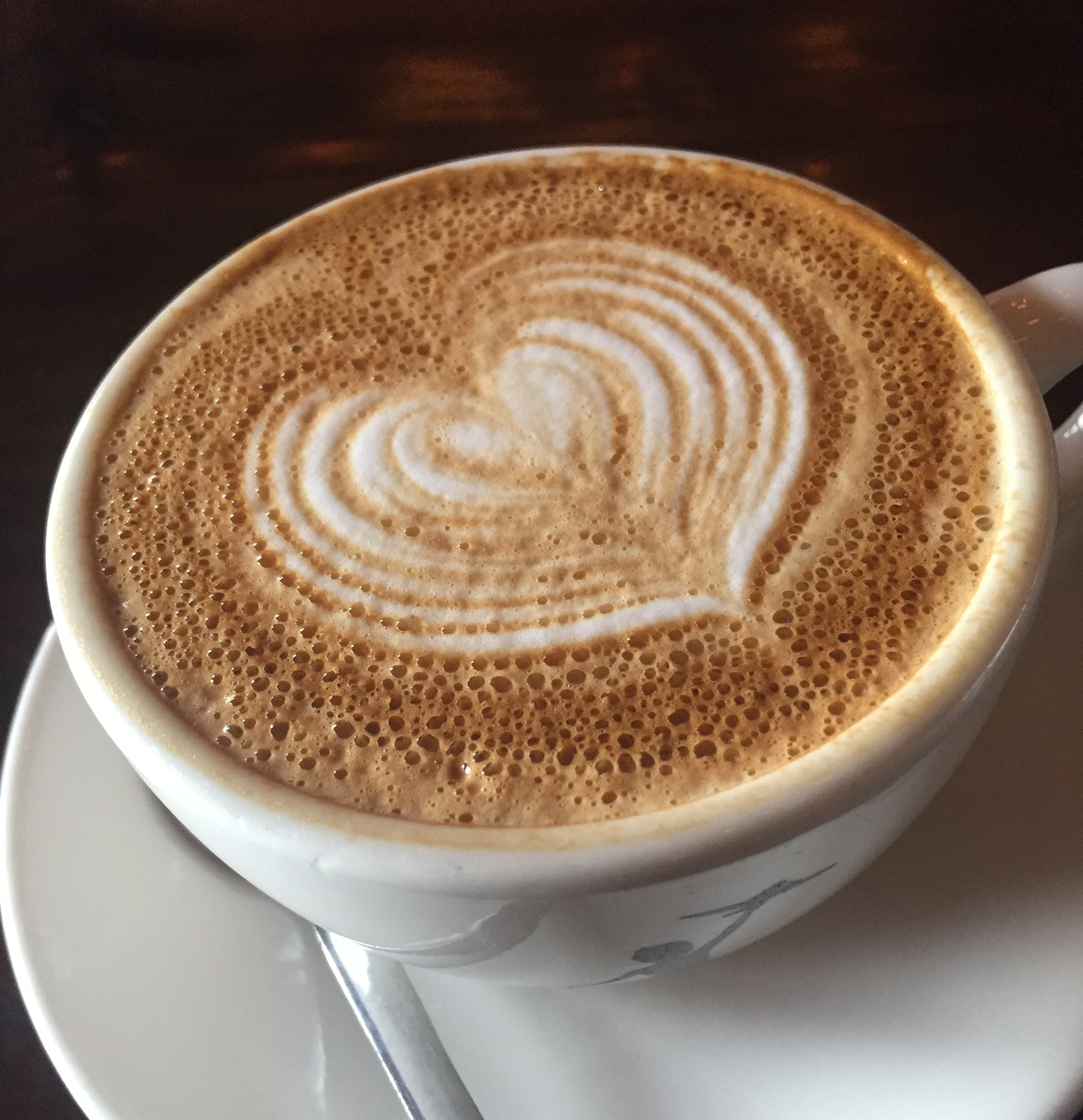 """""""Storyville Coffee"""" -  Another place to escape from the rain, this elegant coffee shop is located on the second floor in Pike Place Market. Their cappuccinos are on point."""