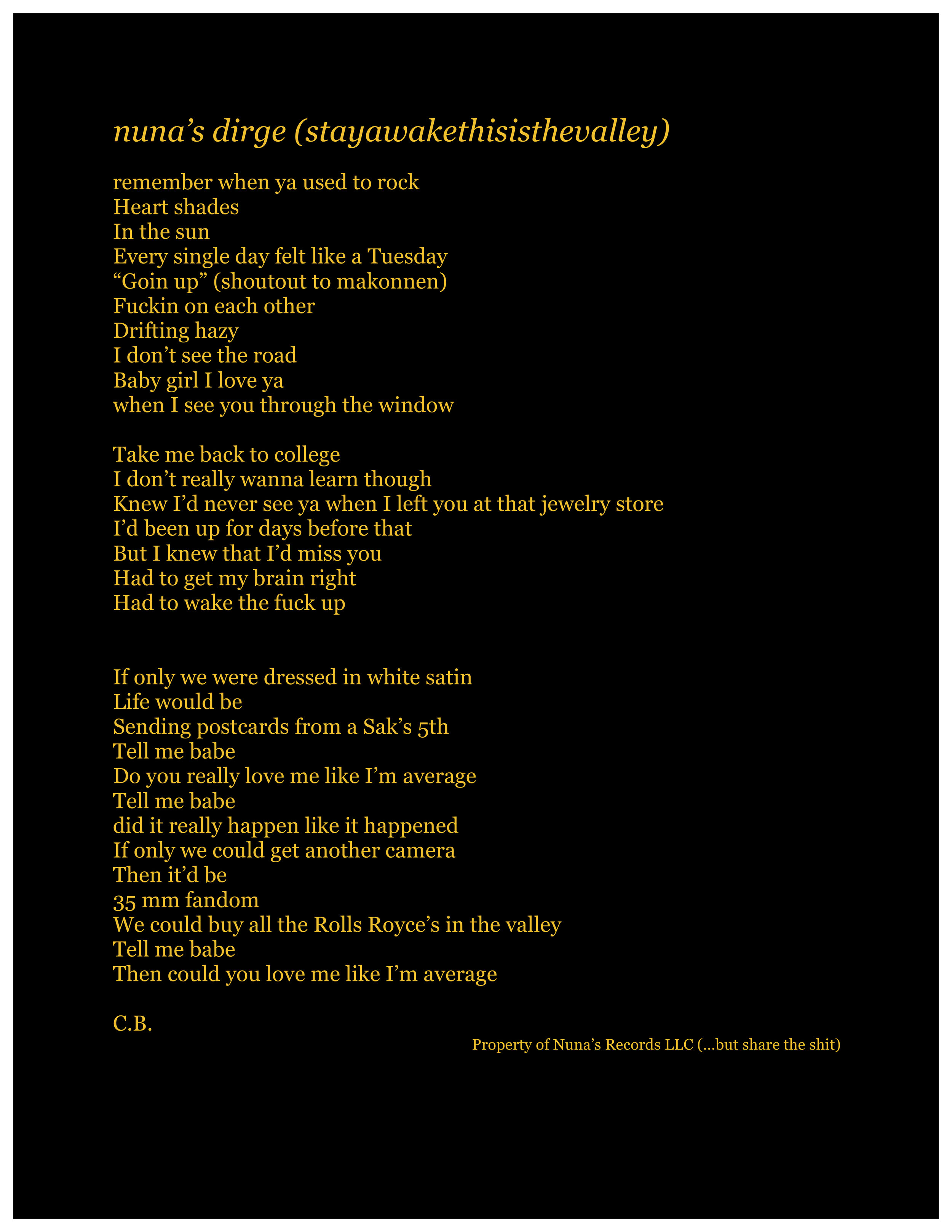 nuna's dirge (stayawakethisisthevalley) lyric sheet.jpg