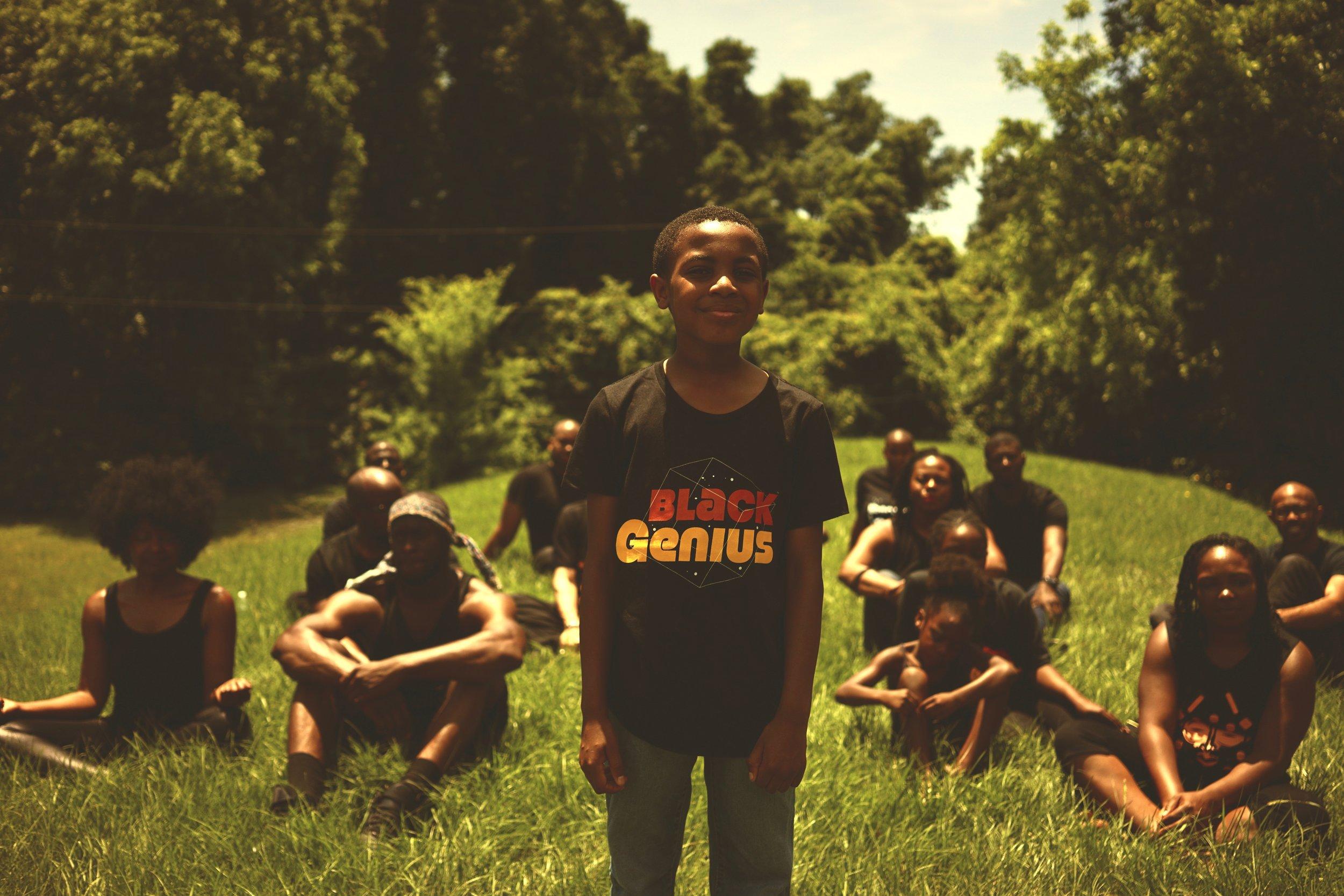 Black Genius T-Shirt Shine on 'em.jpg