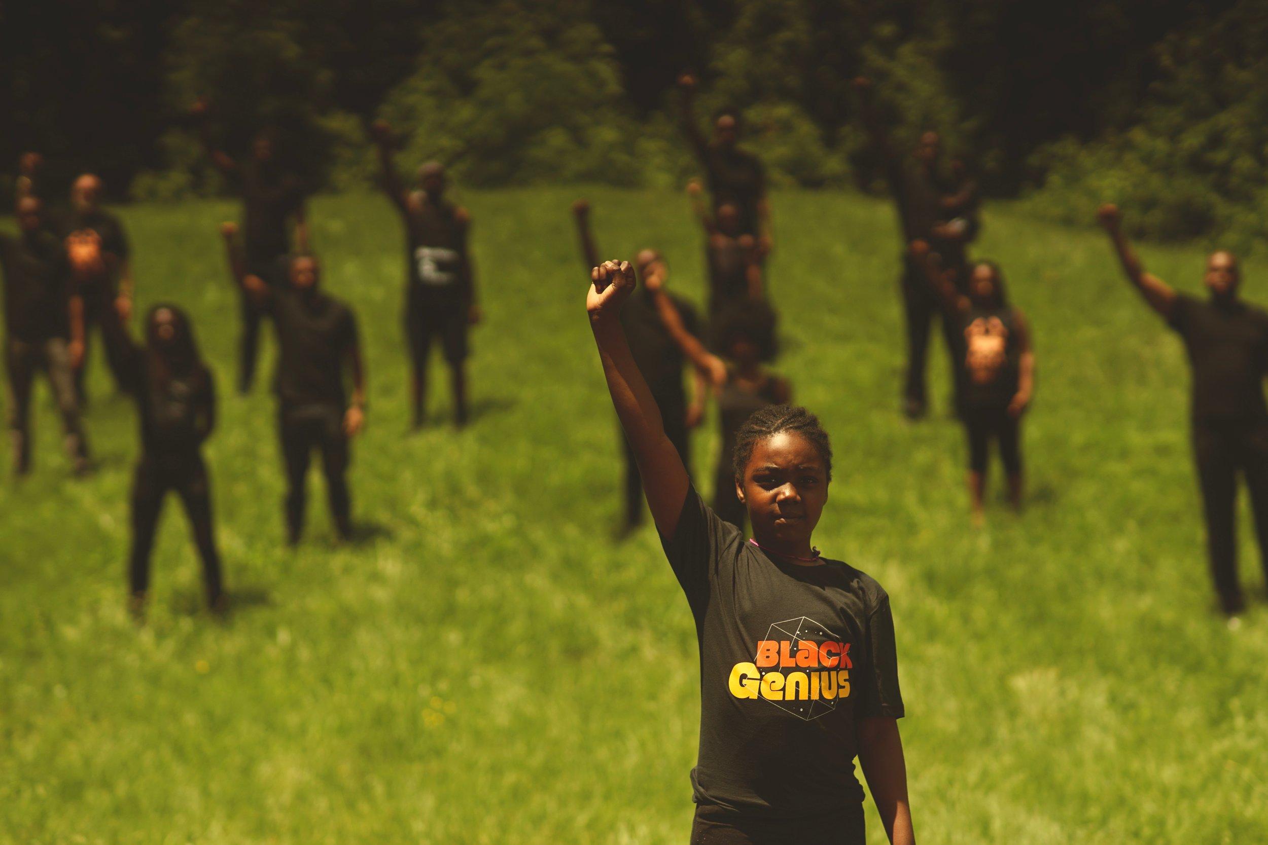 Black Genius Teeshirt - Squad goals .jpg