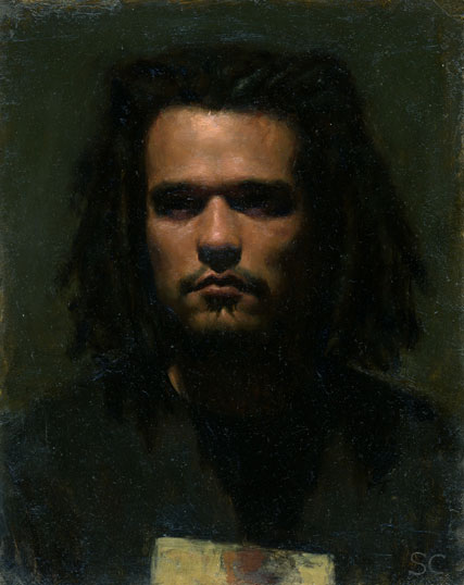 "Marc- oil on panel 10x8"" 2004"