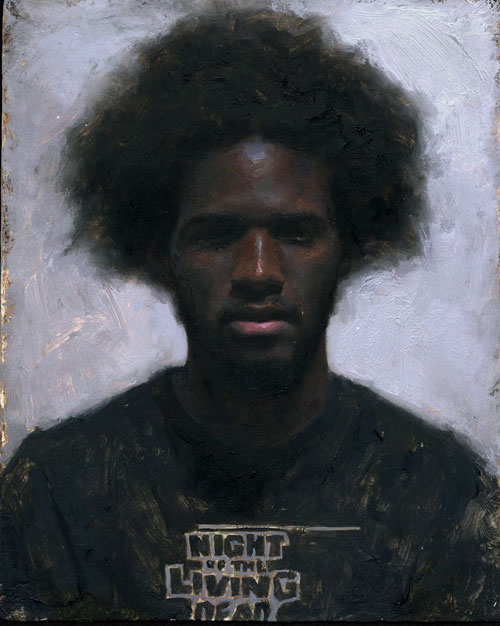 "Khari- oil on panel 10x8"" 2012"