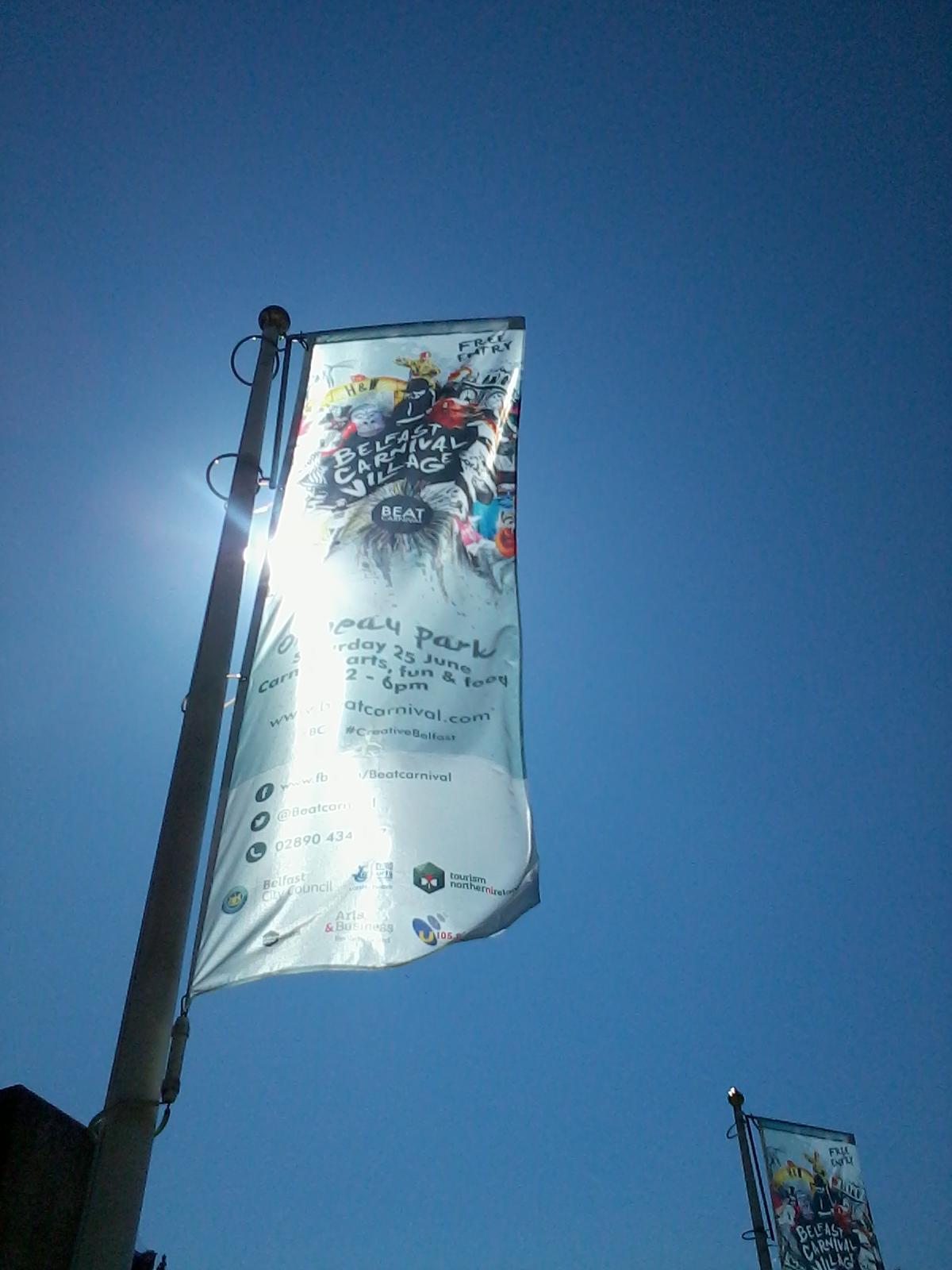 Belfast Carnival Flags