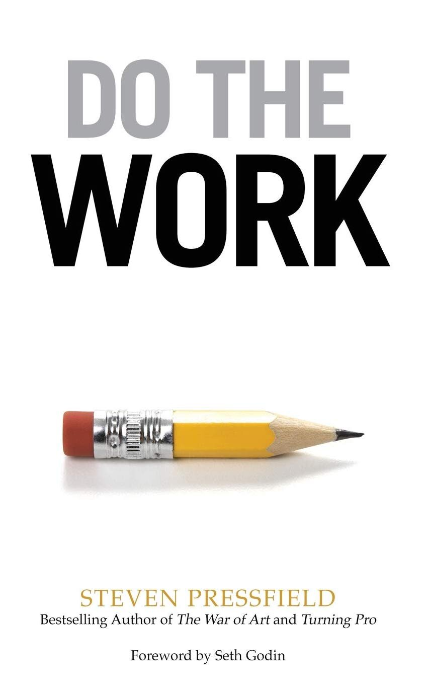 Do the Work by Steven Pressfield - Book cover