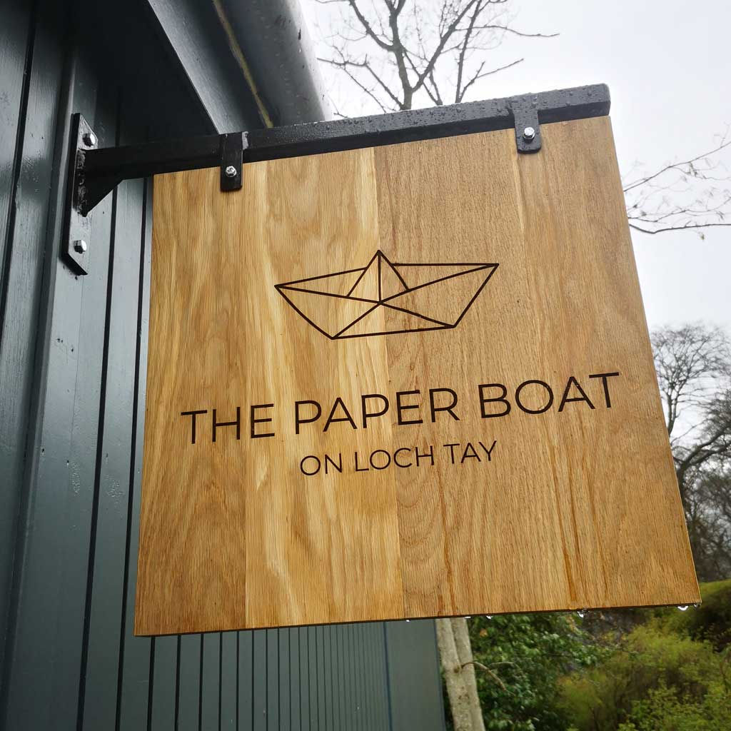Paper Boat Cafe   Pier Rd, Kenmore, Aberfeldy PH15 2HG