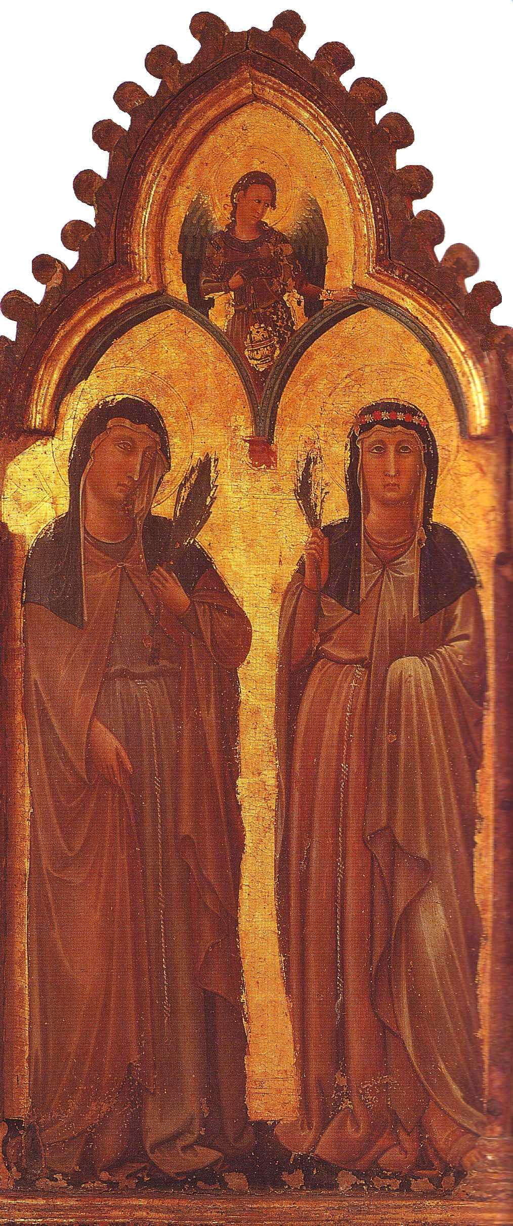 c1230 Letet of Agnes of Assisi to Clare