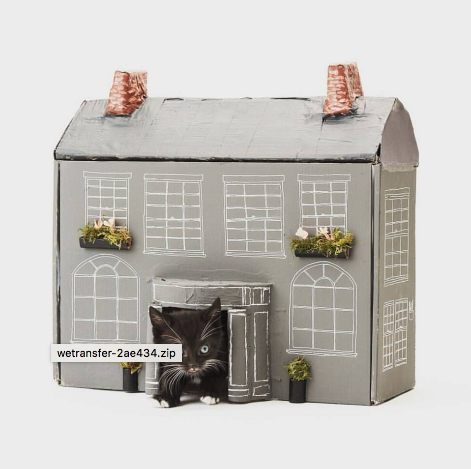 PPM's editor Clare Howcutt-Kelly created this mini Georgian Mansion