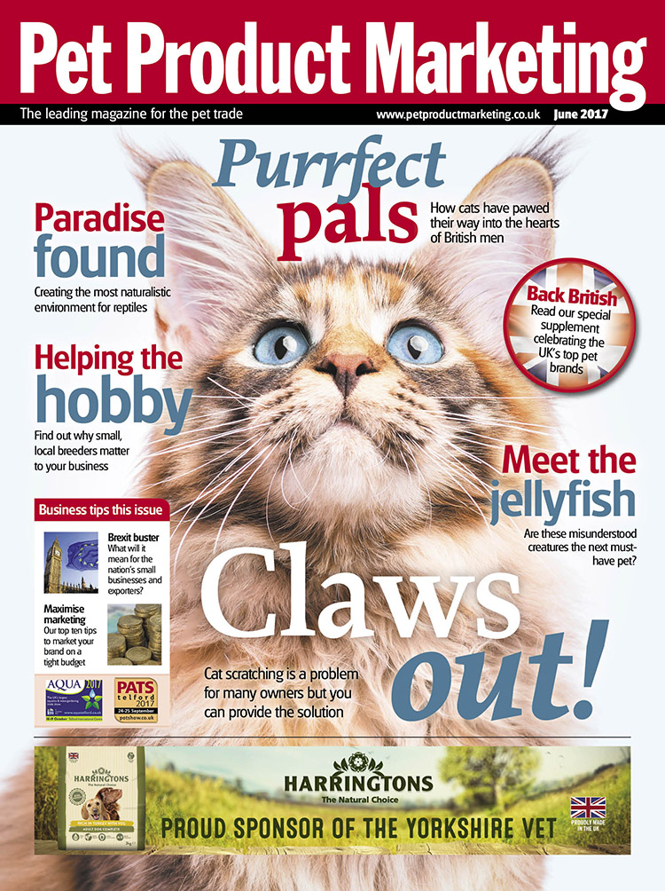 INSIDE THIS ISSUE  Men and cats – are felines becoming man's new best friend  Meet the jellyfish – why these mysterious creatures could be the next big thing  Back British – our supplement features the product that make the nation proud!
