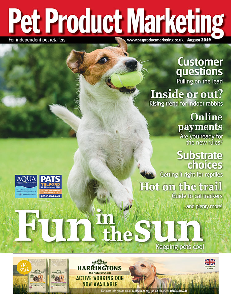 INSIDE THIS ISSUE:  How to keep pets cool. Inside or out? Rising trend for indoor rabbits. Hot on the trail - Your guide to cat trackers. Online payments - Are you ready for the new rules?