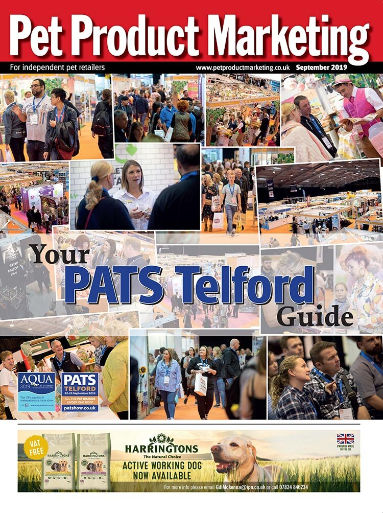 INSIDE THIS ISSUE:  Your guide to PATS Telford. How to keep dogs calm during fireworks season. Autumnal essentials for chickens. CHINfluencers - the trend of pet chinchillas.