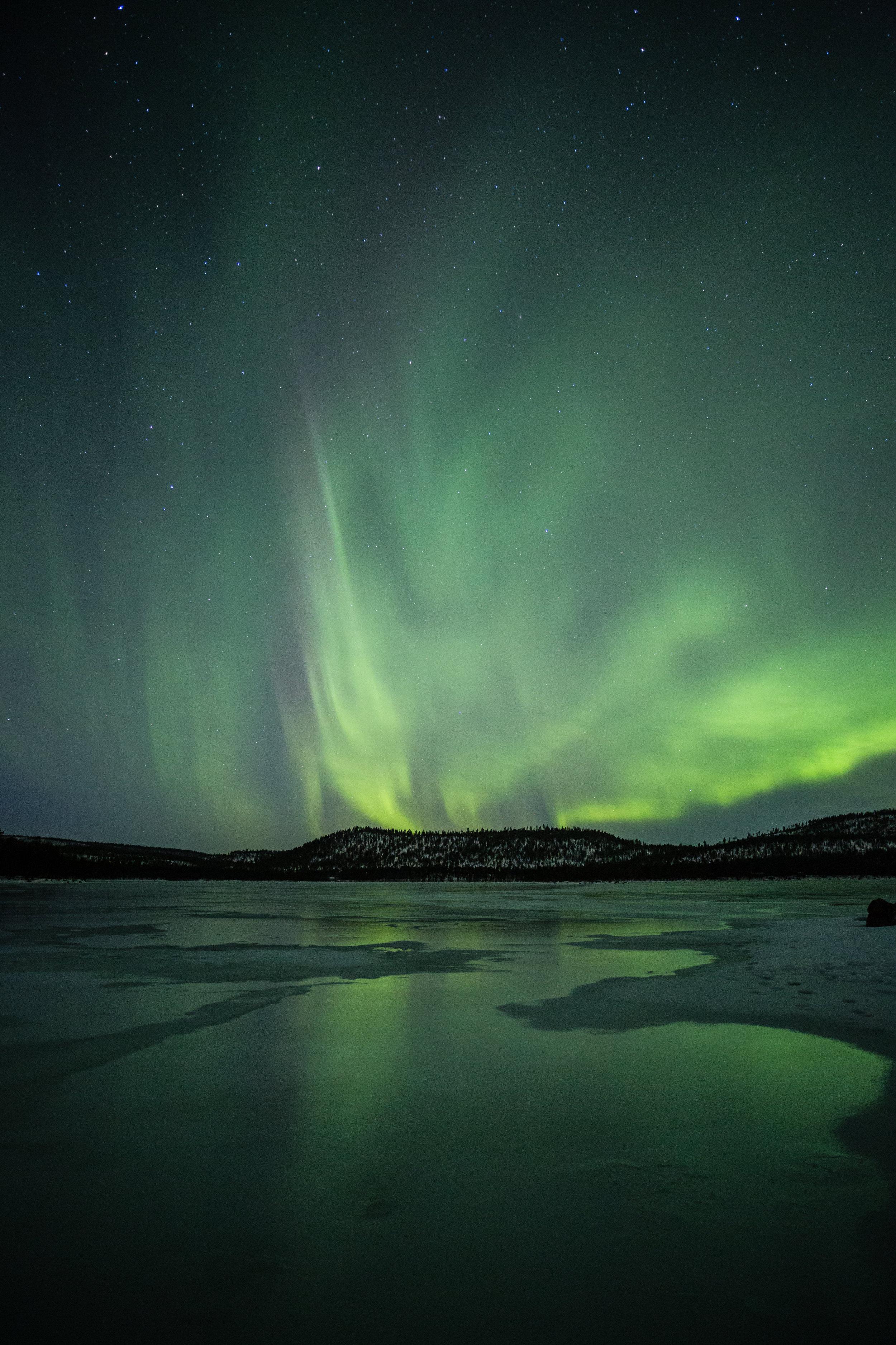 Aurora Borealis - The most enchanting natural phenomenon.