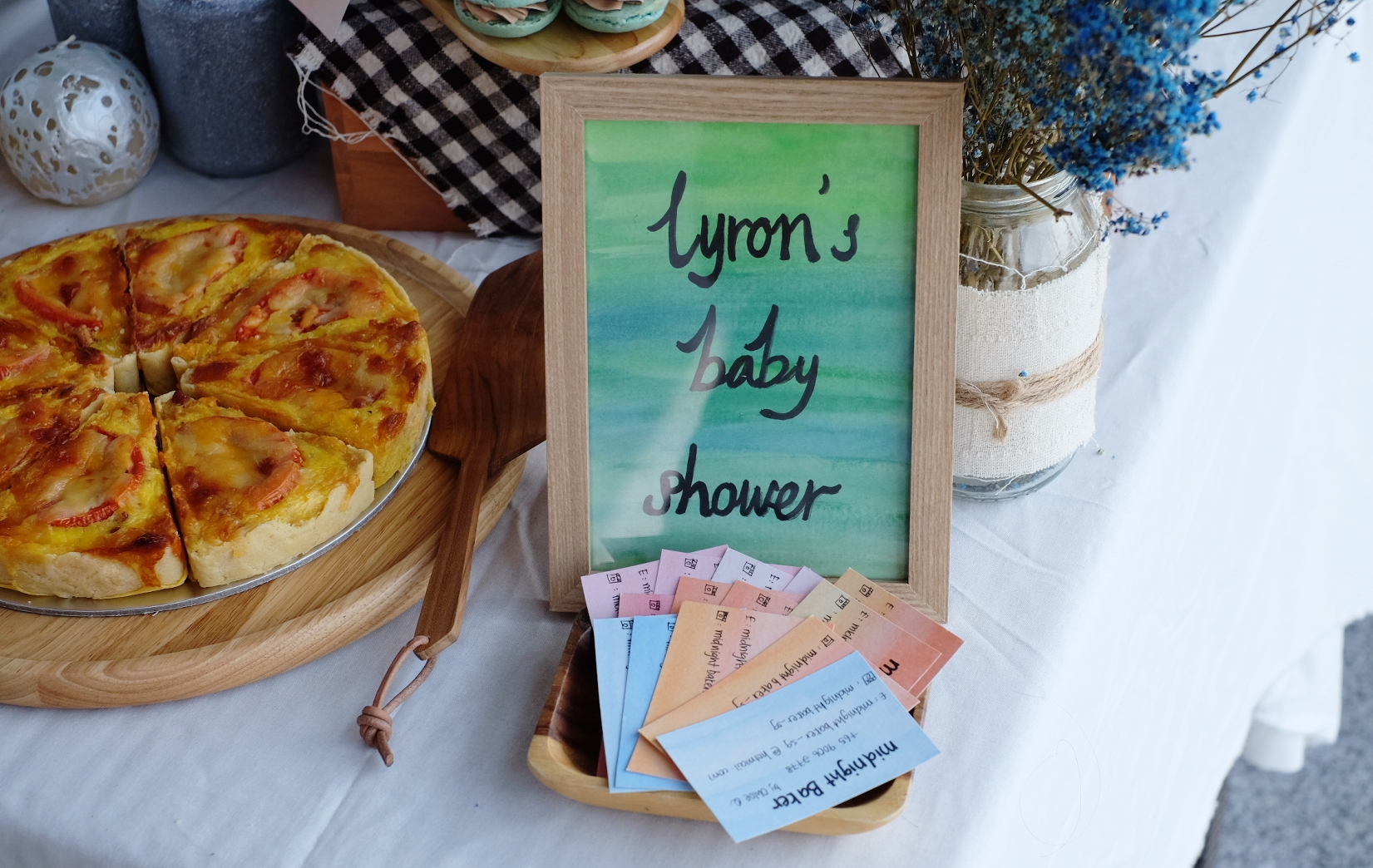 Baby Lyron's Full Month Baby Shower