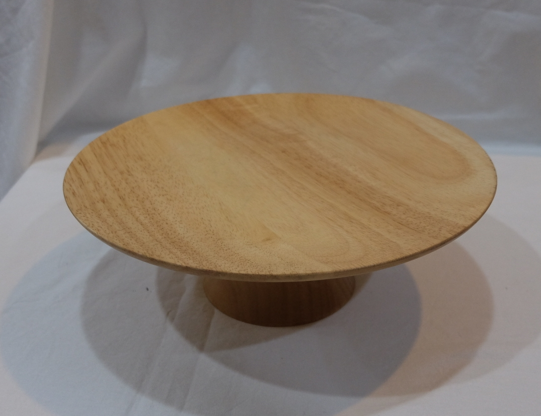WOODEN CAKE STAND S$10.00