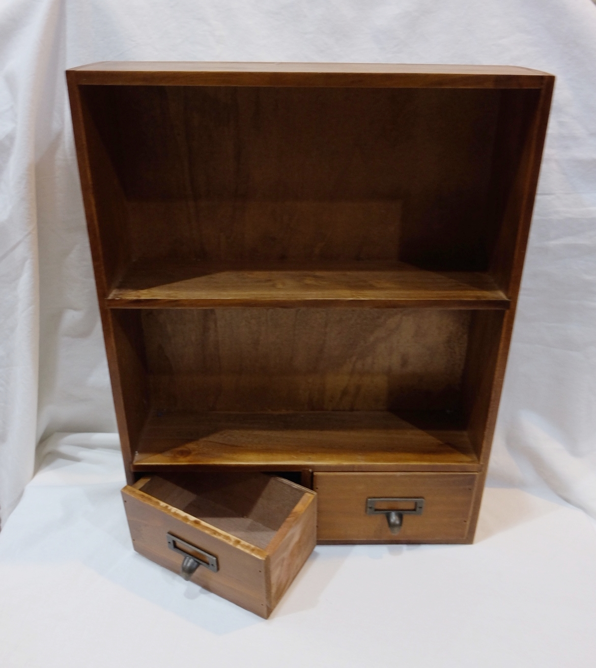 DOUBLE SHELF WITH DRAWER S$12.00