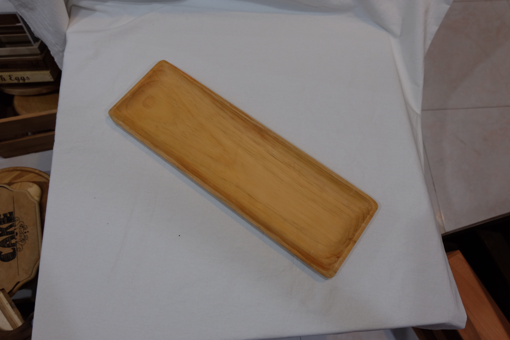 RECTANGLE PLATE S$8.00