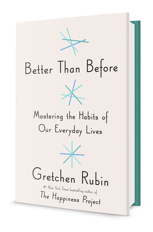 Better Than Before - 'Mastering the Habits of Everyday Lives' by Gretchen RubinI've been loving this book, full of great research and insight on how to create better habits in our lives. Most of us know how important habits can be and this book is a great resource for anyone who wants to improve their curent habits, ditch bad ones, or start new ones. What a great way to end the year!