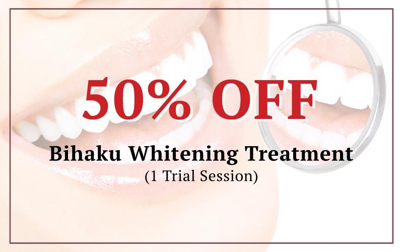 Bihaku Whitening Treatment $35 (U.P $69.90)