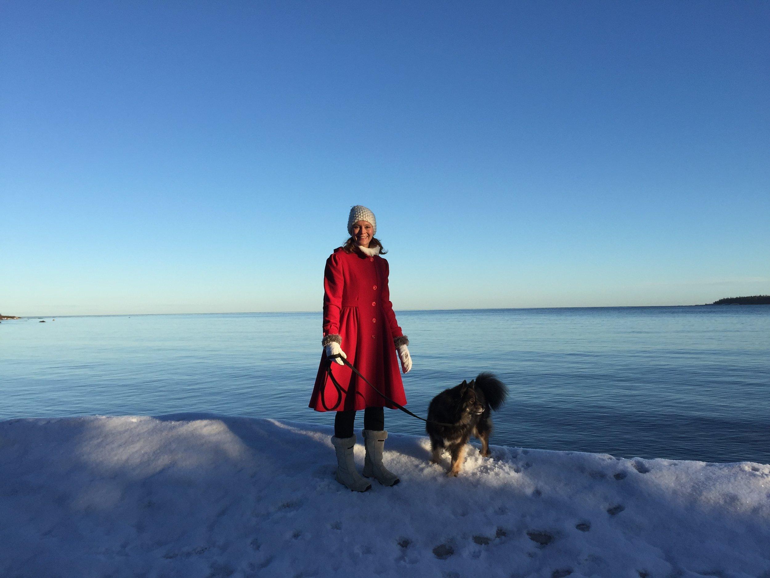 GÅGÅ GÅ Promenera med fri horisont vid havet. Ni kör cirka 10 minuter från Susannas och parkerar vid Billuddens naturreservatet. SÅ fint!