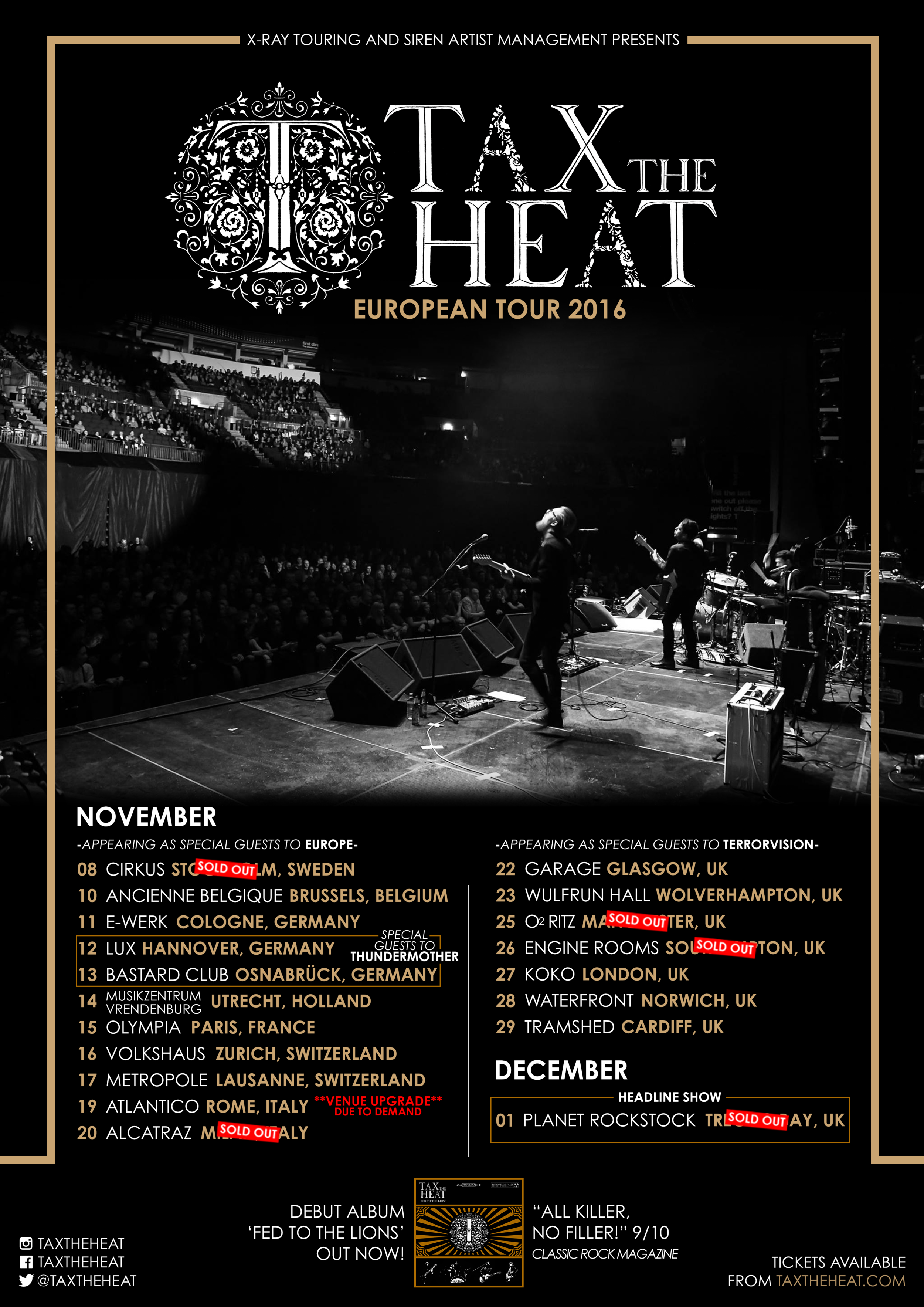 Tax-The-Heat-European-Tour-2016-Update