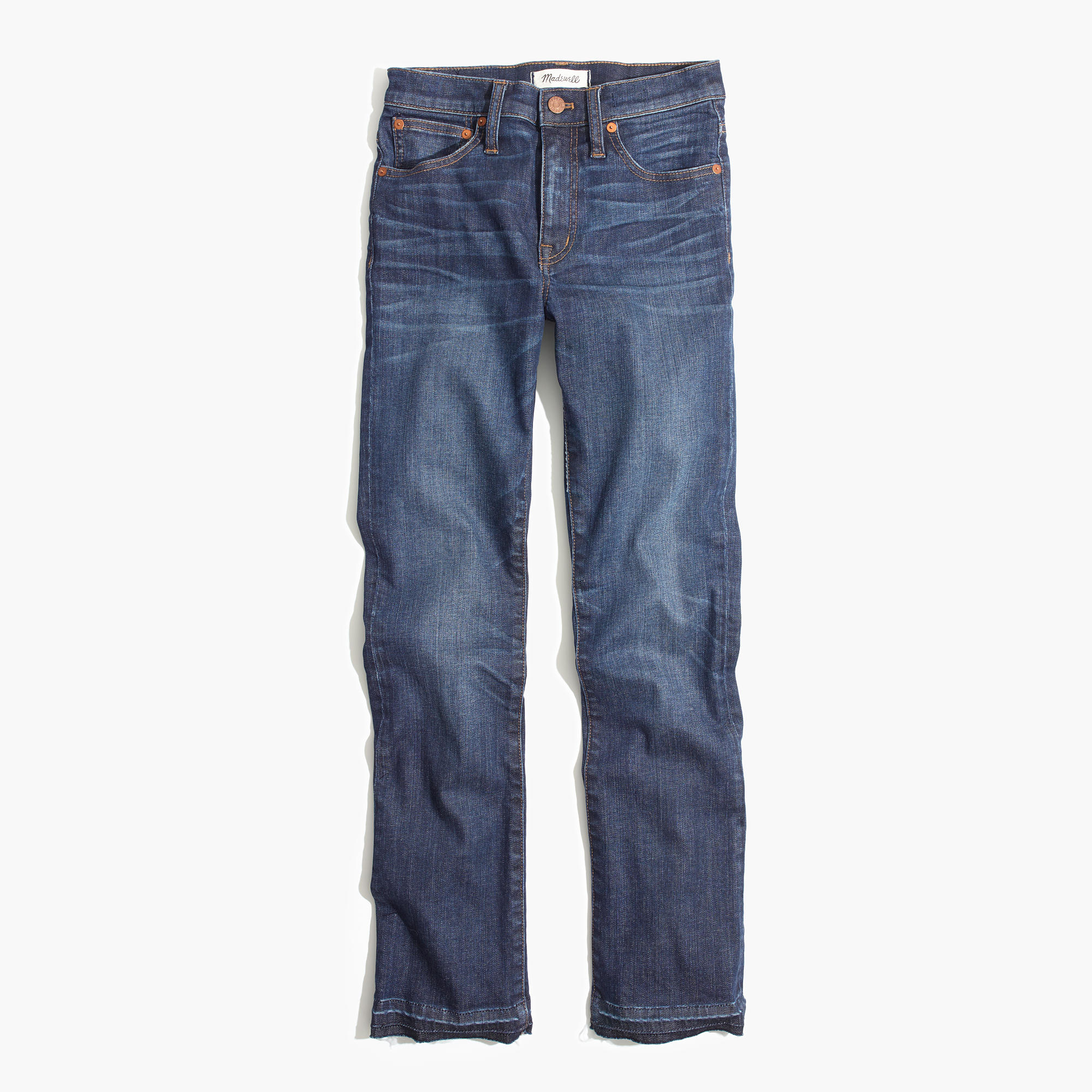 "Madewell Cali Boot Cut   The following is placeholder text known as ""lorem ipsum,"" which is scrambled Latin used by designers to mimic real copy. Maecenas non leo laoreet, condimentum lorem nec, vulputate massa. Suspendisse nec congue purus."