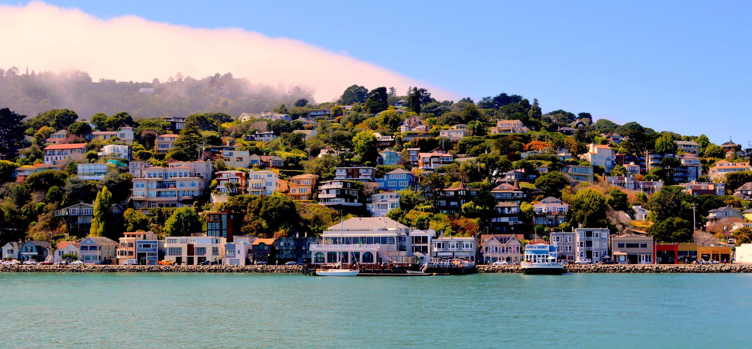 A little bit seaside Mediterranean, a little bit old-school San Francisco, with charm aplenty.