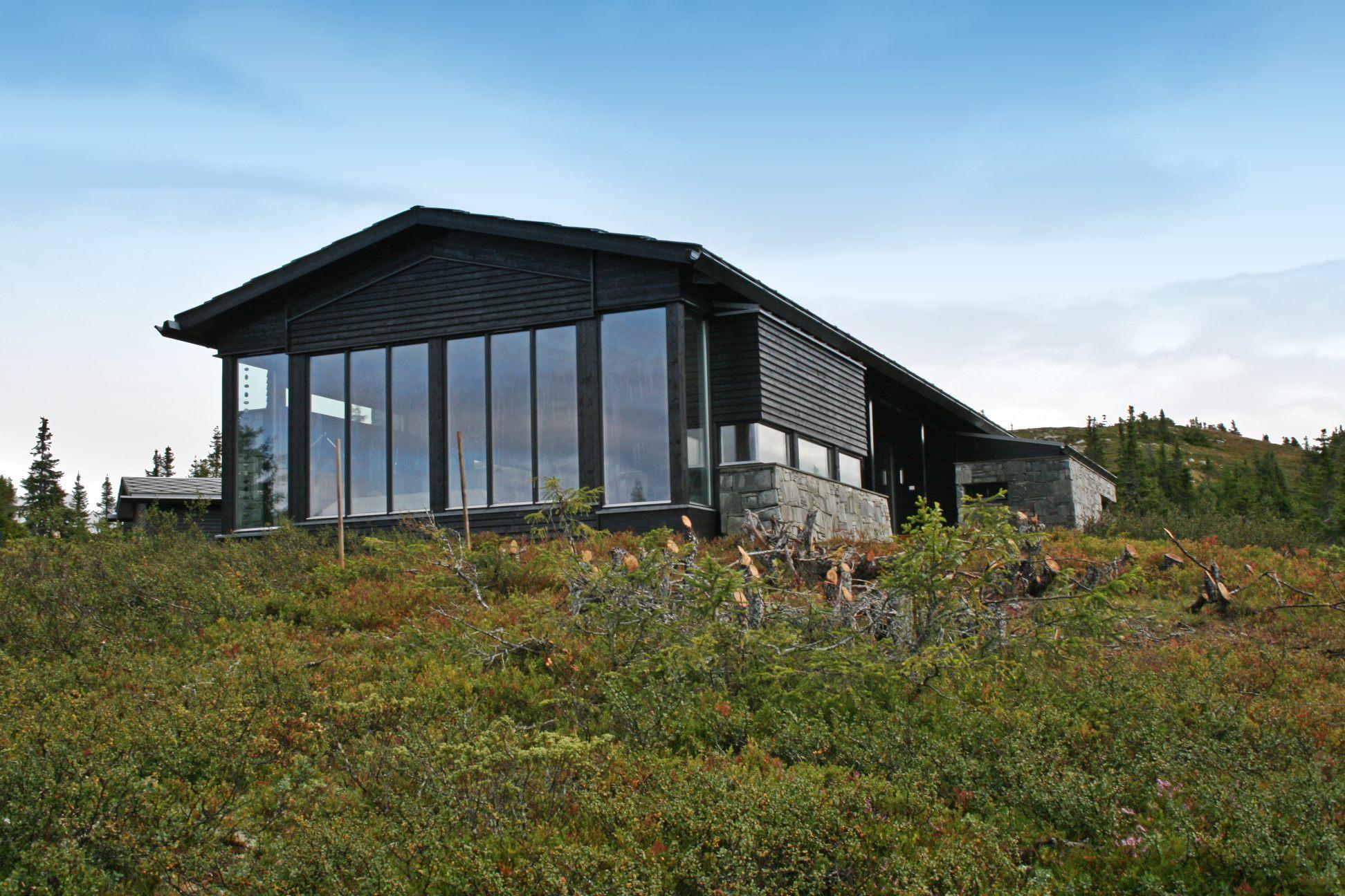 Arkitekt tegnet Hytte Fritidsbolig Kvitfjell 03_RAM arkitektur Lillehammer Oppland_07.jpg