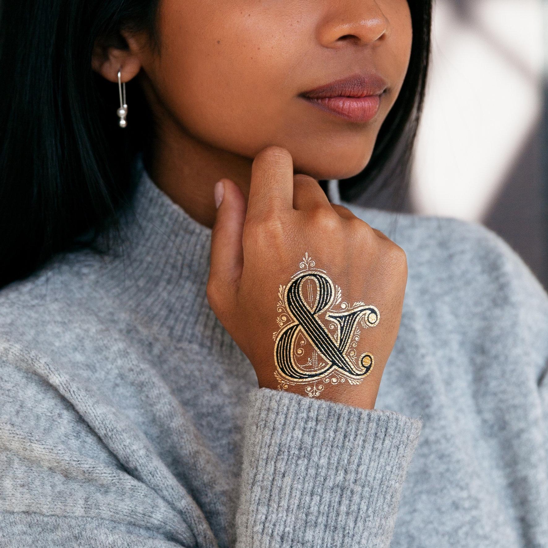 Ampersand Tattoo   €4,50