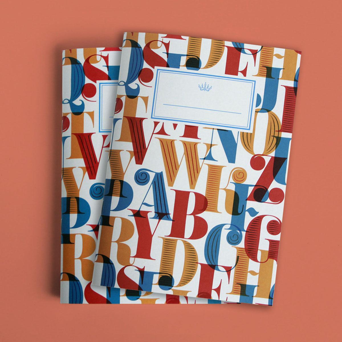 Set of 2 Bold Elegant Notebooks   €13,00