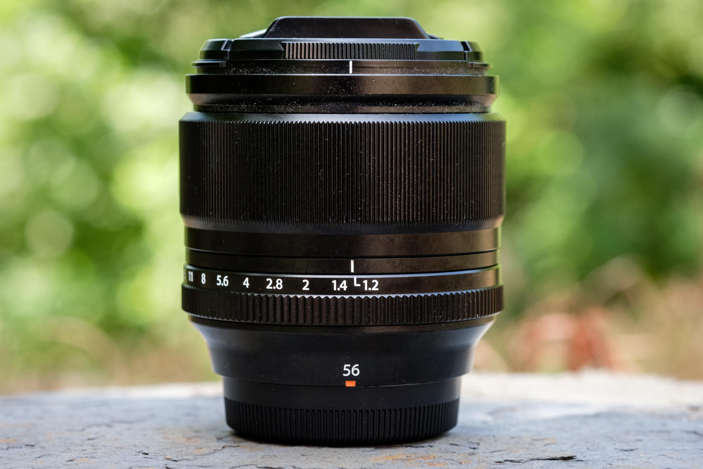 The Fuji 56mm 1.2 R. This is quite possibly my favorite lens ever. I love how small and compact it is while providing me with a very wide 1.2 aperture and incredible image quality.