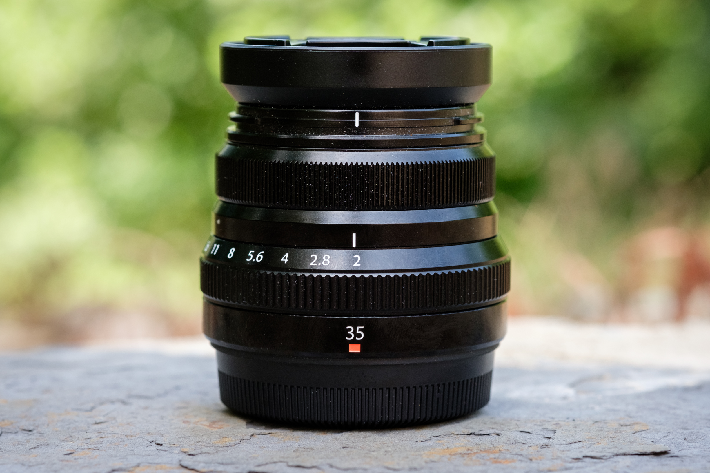 The Fuji 35mm f/2. This is such a tiny lens that packs a big punch. The image quality it produces is excellent.