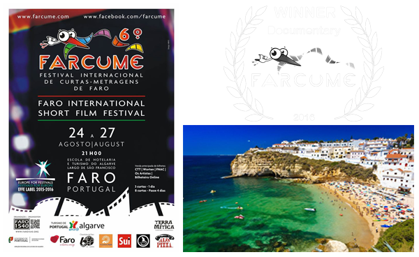 August 30, 2016  AUSTRALIA'S  NATURE NEEDS YOU  WINS BEST DOC AT PORTUGAL FILM FEST  The 9-minute ecological documentary about ordinary Australians protecting their communities from the fossil fuel industry has won the award for  Best Documentar y at the  6th FARCUME Festival International Curtas-Metragens De Faro.   The festival screened 200 films from 47 countries between 24-27 August in  Faro , the southern most city of  Portugal.  In the documentary category, 24 films were shortlisted from 12 countries.  Nature Needs You , which Balangara produced for   The Wilderness Society took out the 1st prize from 2nd place  Sur les points  by Diana Ricardo, M do Carmo Duarte, and Sandra Carneiro from Portugal. 3rd place was awarded to  When Our Gardens Grow Silent  by Mzung from Vietnam.
