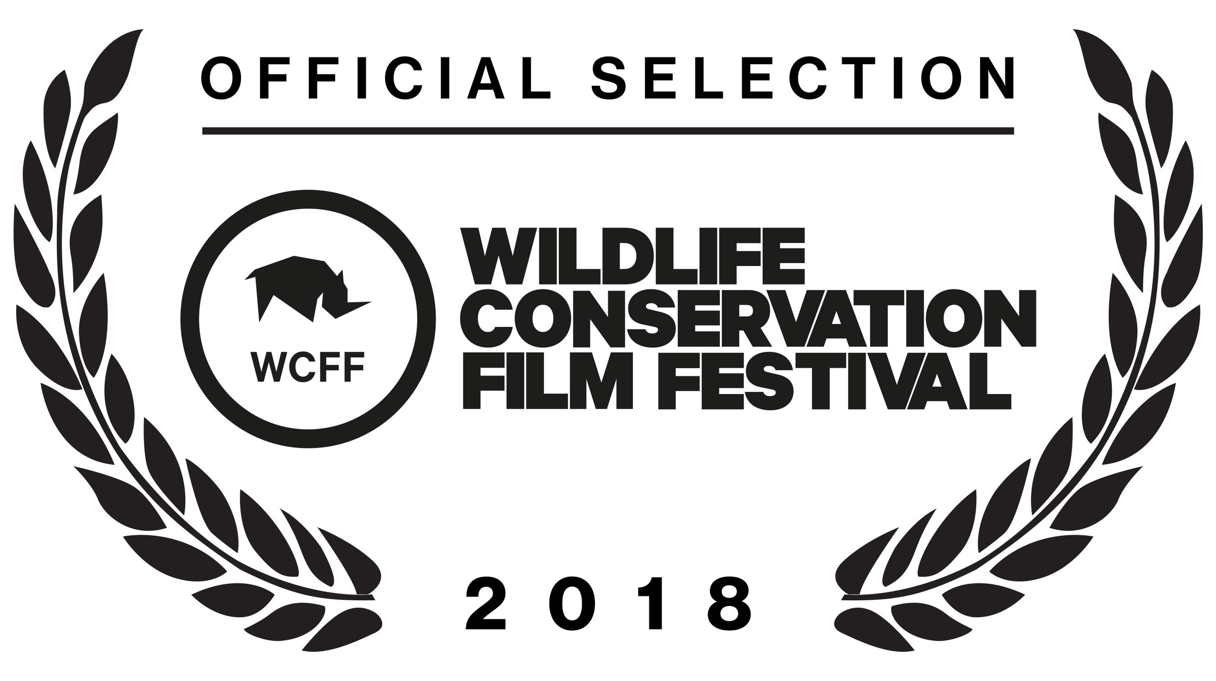 14th February, 2018  OFF TO THE BIG APPLE!   Exciting times: It doesn't get too much bigger than this in the wildlife/conservation film festival world. 'A Gentle Giant' has been officially selected at 2018 Wildlife Conservation Film Festival. The film will have its North American big screen premiere at Cinema Village Theater, 22 East 12th Street & University Place New York during the fest Oct 19-25.