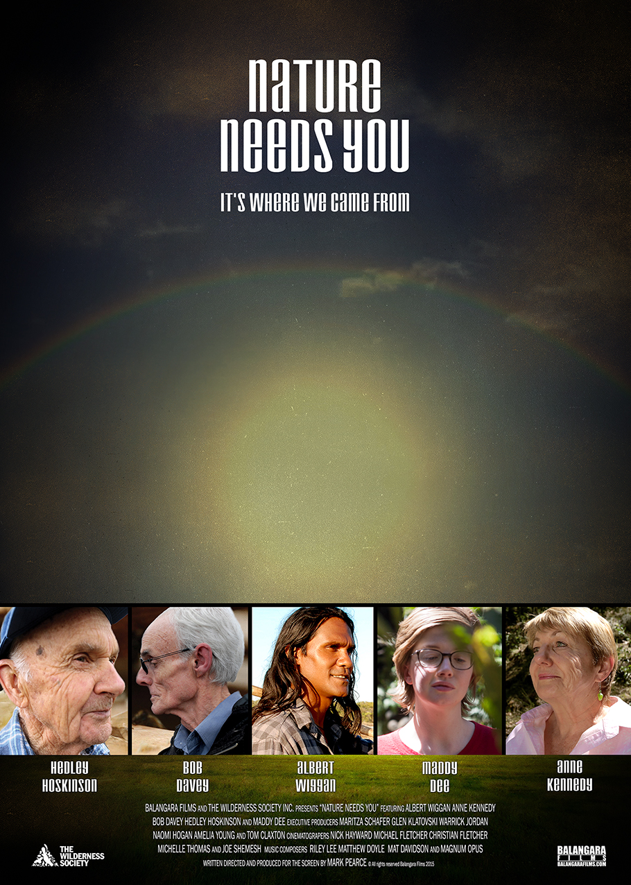"""""""Nature Needs You""""   It's where we came from.  Genre: Documentary   Dur: 10min"""