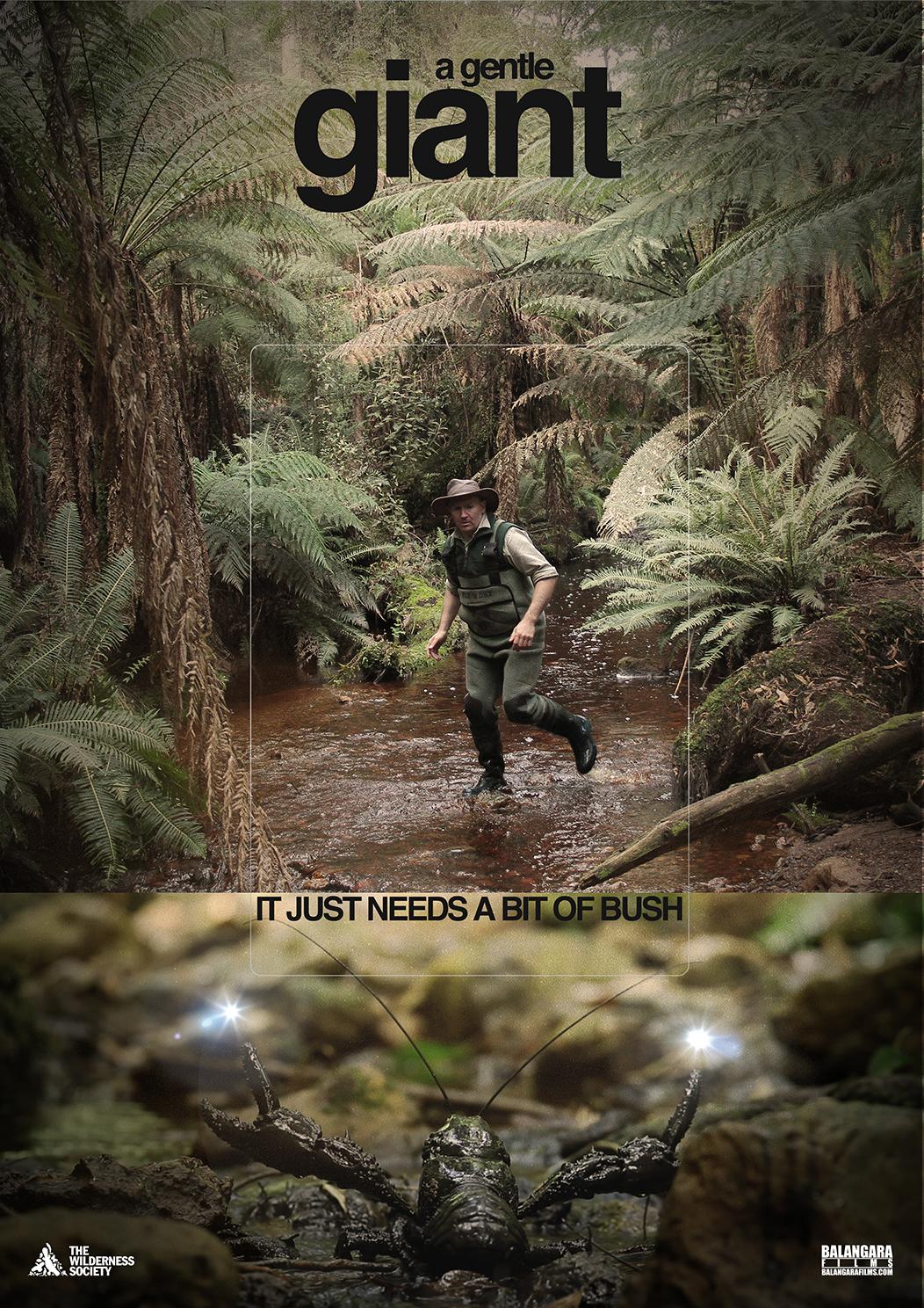 """A Gentle Giant""   It just needs a bit of bush.  Genre: Documentary   Dur: 4min"