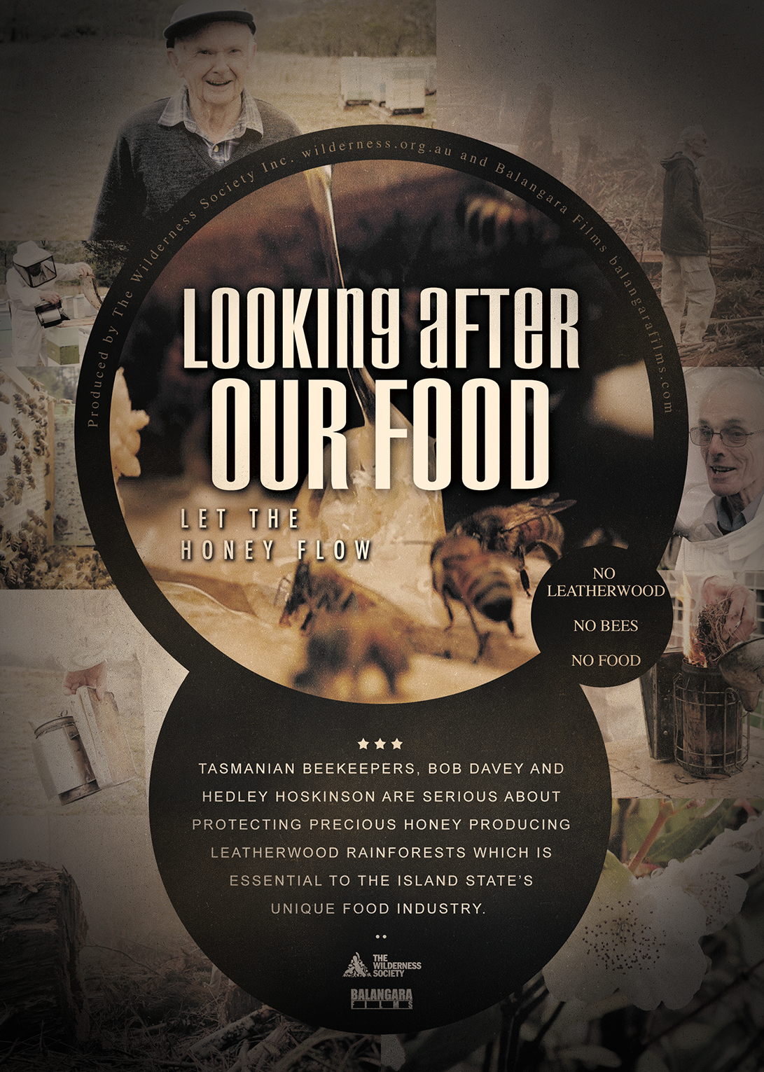 """""""Looking After Our Food""""   Let the honey flow.  Genre: Documentary   Dur: 7min"""