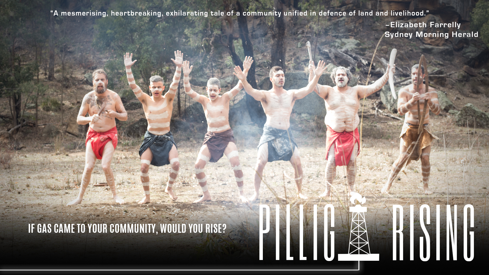 12th July, 2019 PILLIGA RISING DOC TO BE SCREENED IN MOREE A film highlighting the human impacts of Santos' proposed coal seam gas project in the Pilliga Forest will be aired at a free screening in Moree next week.    READ FULL ARTICLE HERE