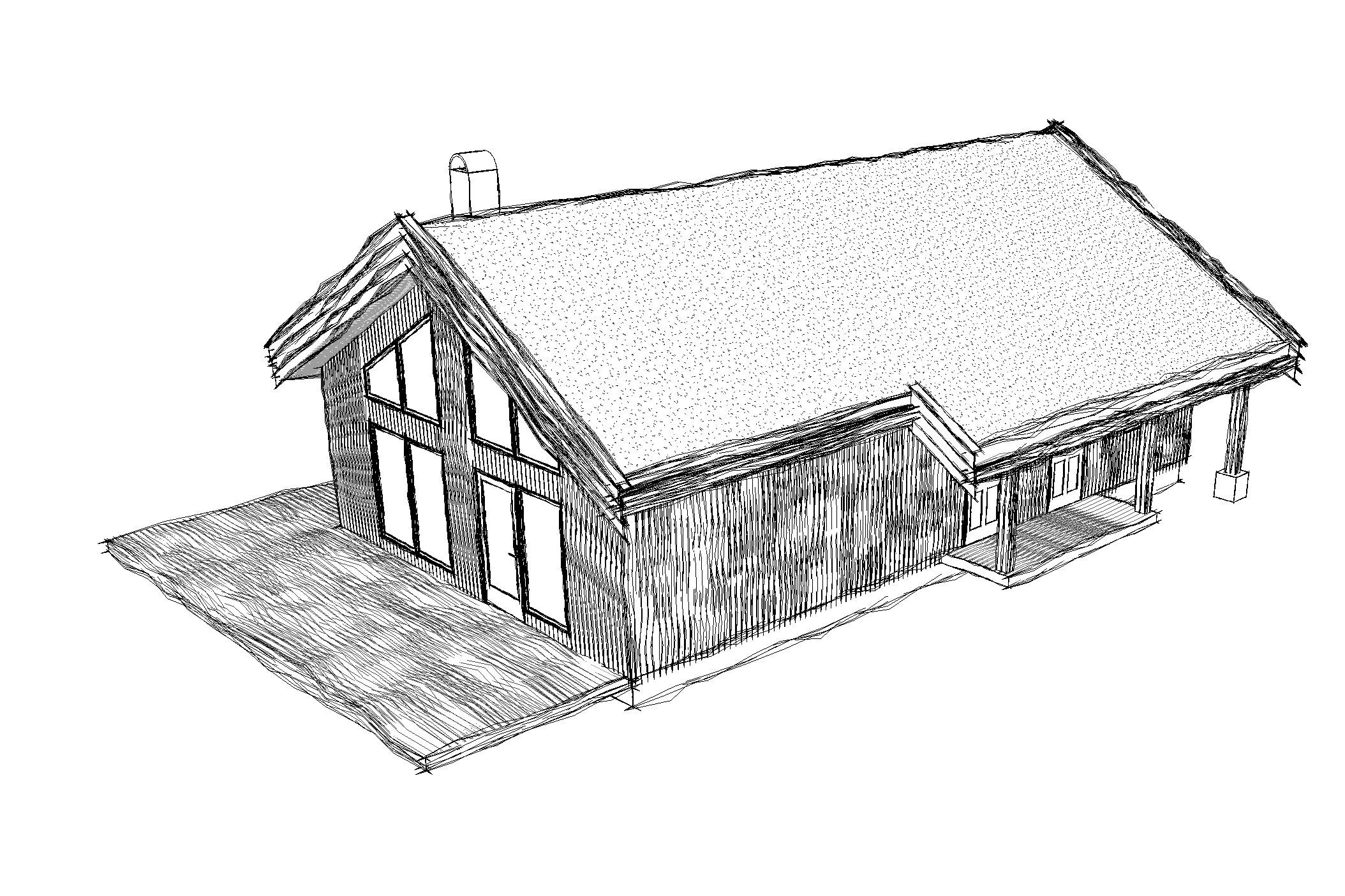 Skirveggen  Areal: 80 m2 Soverom: 3