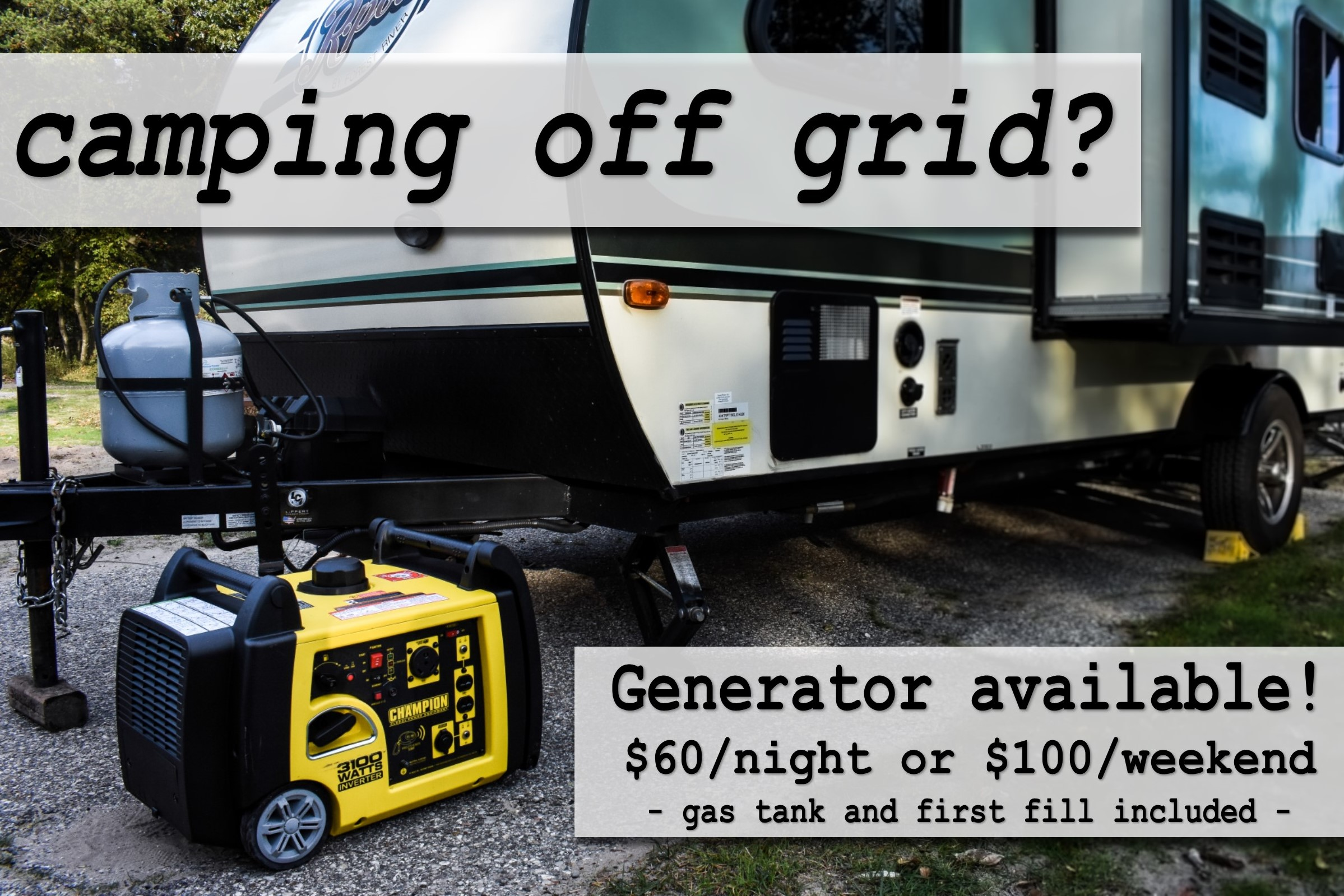 Campshare Generator Rental Muskegon Michigan.jpg