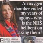 An oxygen chamber...