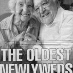 The oldest newlyweds...
