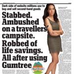 Stabbed. Ambushed...