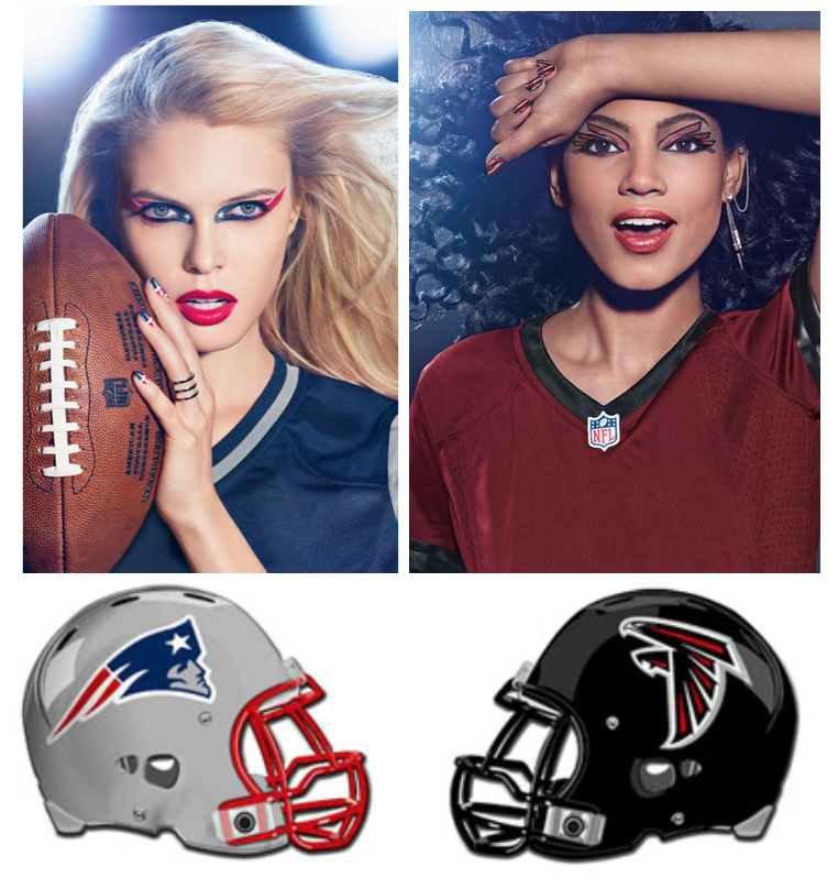 *Images courtesy of COVERGIRL® + The NFL